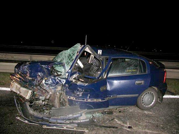 Tragická dopravní nehoda se stala v noci na pondělí na 195. kilometru dálnice D1.