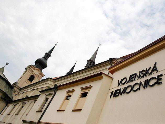 Vojenská nemocnice v Brně.
