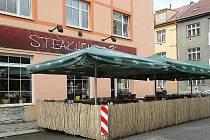 Restaurace Steakhouse K1 v brněnských Židenicích.