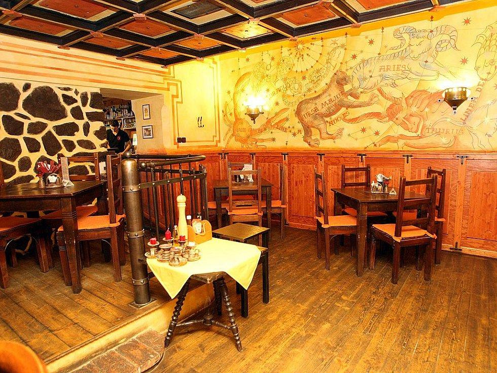 Brněnská restaurace Černý medvěd.