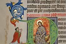 Svatojakubská knihovna dochovala 127 převážně středověkých rukopisů.