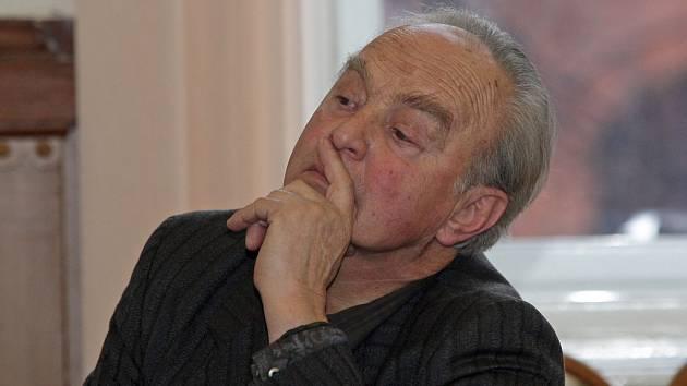 Otto Prümmer u brněnského soudu.