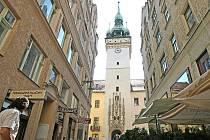 Stará radnice v Brně.