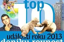 Top 10 událostí roku 2013 na jižní Moravě.