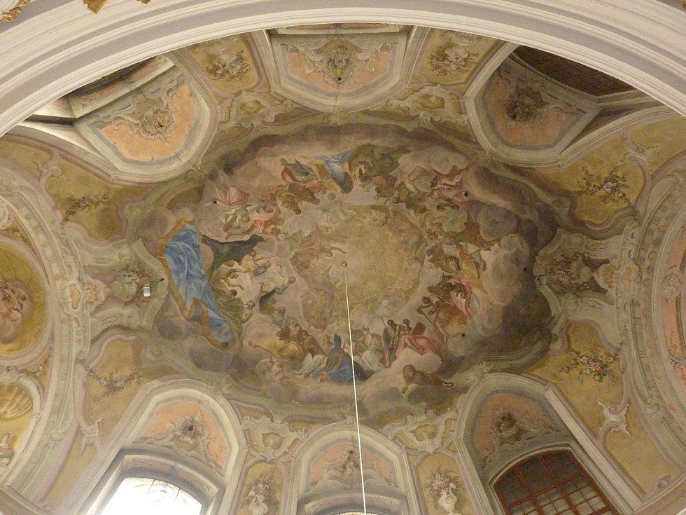 Restaurátorská obnova fresek v kostele svatého Leopolda v Brně získala první místo v soutěži o nejlépe opravenou památku roku 2020 v kategorii výtvarné umění.