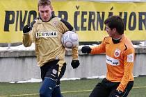 Fotbalisté Zbrojovky porazili v přípravě slovenský Ružomberok 4:1.