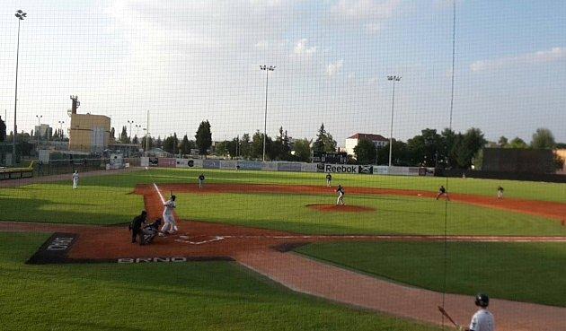 Draci na Poháru federace baseballistů vBrně.