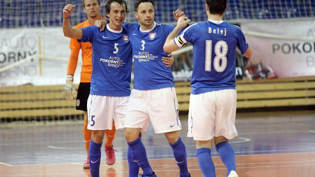 Futsalisté brněnského Tanga - ilustrační foto.