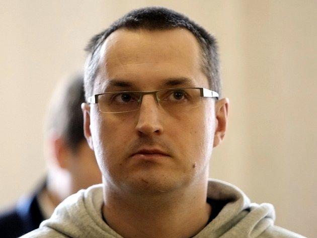 David Pánek před soudem.