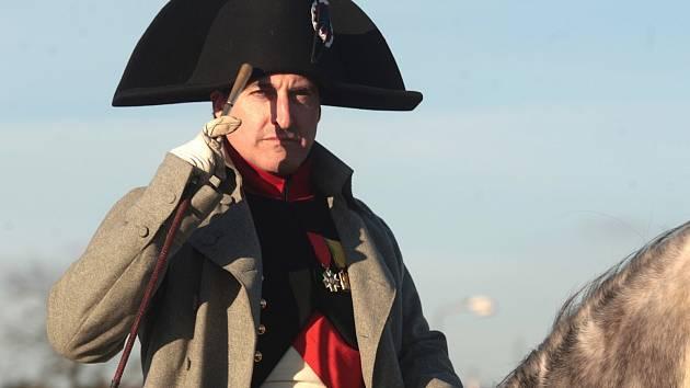 Představitel Napoleona Bonaparte.