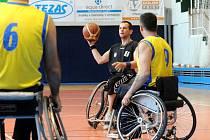 Brněnští basketbalisté na vozíku SK Hobit.