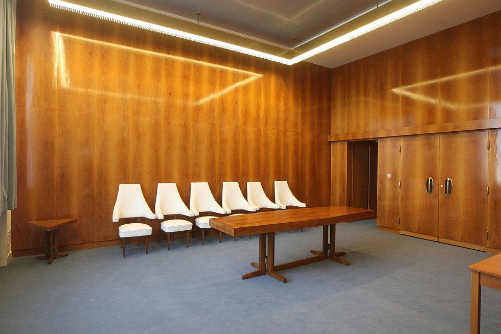 Zrekonstruované Janáčkovo divadlo v Brně.