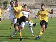 Ilustrační foto Rosic při zápase (ve žlutém).