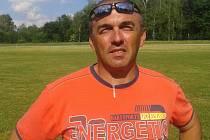 Dobrovolný hasič Josef Pěnča.