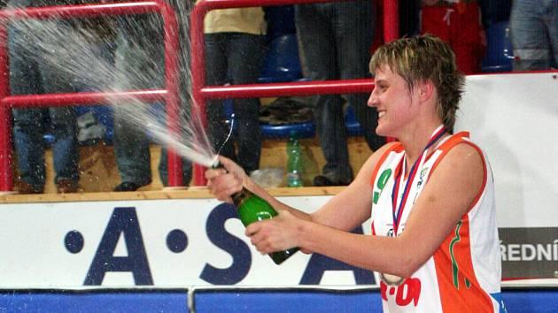 Dvanáctý titul v řadě oslavila i kapitánka Gambrinusu Hana Machová.