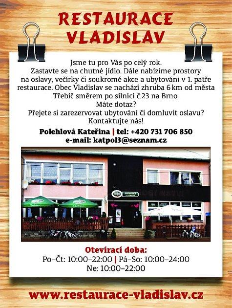 26. Restaurace Vladislav