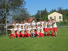 Fotbalisté Jundrova poprvé v historii klubu postoupili z městského přeboru do I. B třídy.