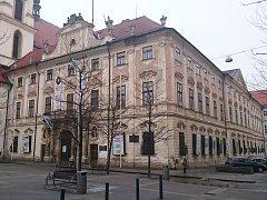 Místodržitelský palác v Brně.