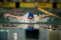 Nadějný plavec Marek Osina.