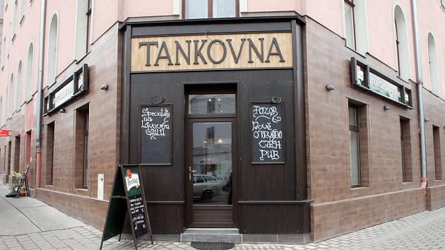 Nedávno otevřená Tankovna.