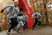 Jeden z předchozích ročníků běhu Útěchovskými lesy.