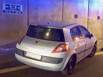 Nehoda v Husovickém tunelu.