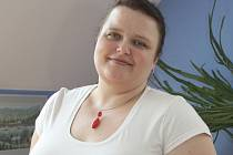 Ředitelka hospicu Jiřina Večeřová.