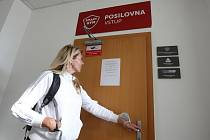 Protikoronavirová opatření, zavřené posilovny a sportoviště.
