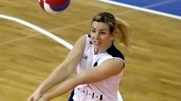 Volejbalistka Michaela Doležalová.