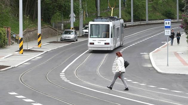 Opravená Údolní v Brně: chybí parkovací místa