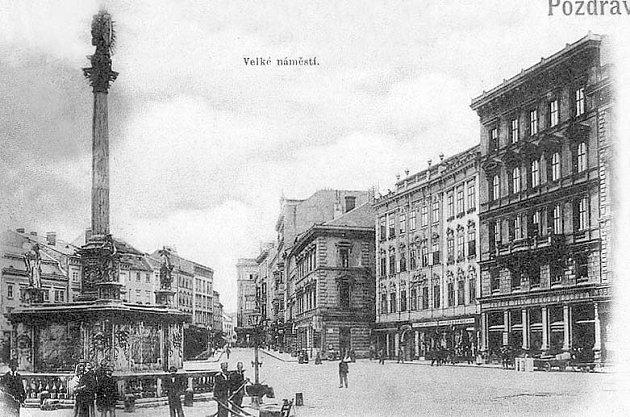 Pánský CLUB. Před válkou chodili pánové pro kravaty do přízemí hotelu Evropa.