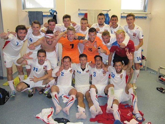 Výběr Jihomoravského krajského fotbalového svazu postoupil vSrbsku na závěrečný turnaj Regions Cupu.