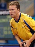 Stolní tenista Jan Ove Waldner.