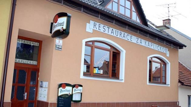 Restaurace Za kapličkou.