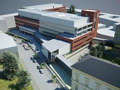Druhá etapa stavby Mezinárodního centra klinického výzkumu (ICRC).