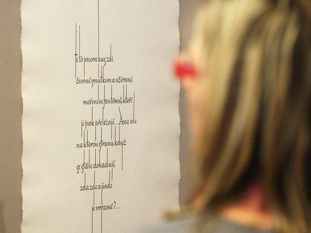 Doteky téměř něžné představují tvorbu grafika a ilustrátora Jiřího Šindlera.