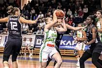 Basketbalistky Králova Pola doma zdolaly v EuroCupu polský Gorzów 71:67.