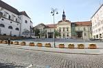 Brno v době opatření proti koronaviru - Dominikánské náměstí