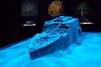 Výstava Titanic v pavilonu C brněnského výstaviště