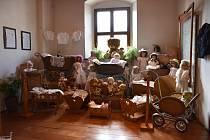 Výstava historických kočárků v Ivančicích.