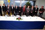 Jednání se zástupci kraje v brněnských Tuřanech.