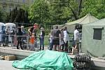 Plošné testování v pondělí na Moravském náměstí.