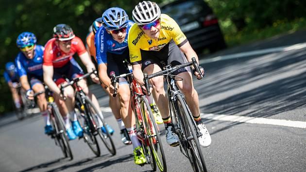 Mladé cyklisty čeká na šampionátu v Brně extrémně obtížná časovka