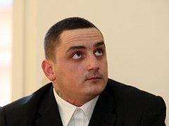 Pavel Otoupalík u soudu.
