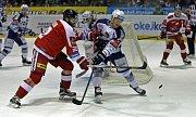 Hokejisté olomoucké Mory přivítali na domácím ledě Kometu. Porazili Brňany 3:2 po prodloužení.