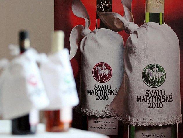 Svatomartinské víno. Ilustrační fotografie.
