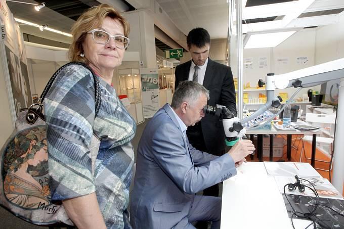 Pavilon E brněnského výstaviště poprvé hostí devátý ročník mezinárodního veletrhu InDent.