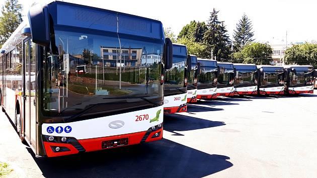Úleva od horka. V Brně vyjede 20 nových autobusů. S klimatizací a nabíječkami