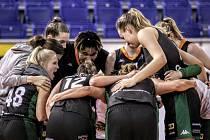 Basketbalistky Žabin Brno slaví postup do finále.