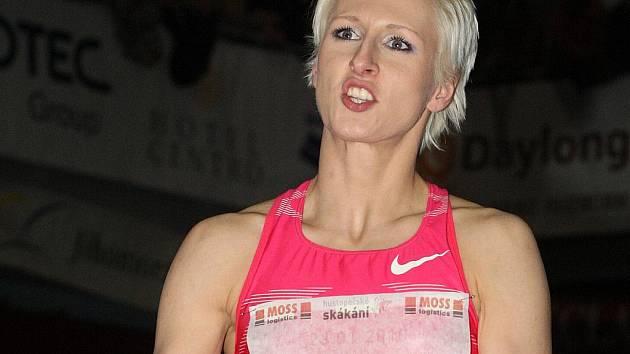 Výškařka Ariane Friedrichová.